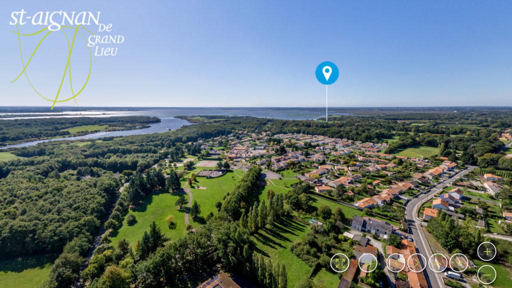 Saint-Aignan de Grand Lieu 360°