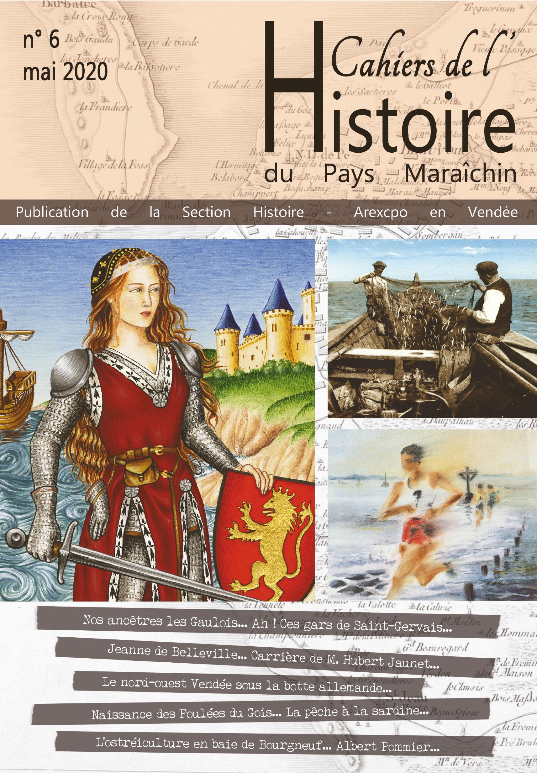 Couverture cahier de l'histoire