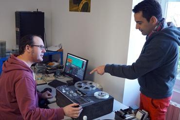 numérisation d'archives sonores c aubineau g blin